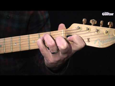 Guitar Lesson: How to play 'behind the nut' string bends