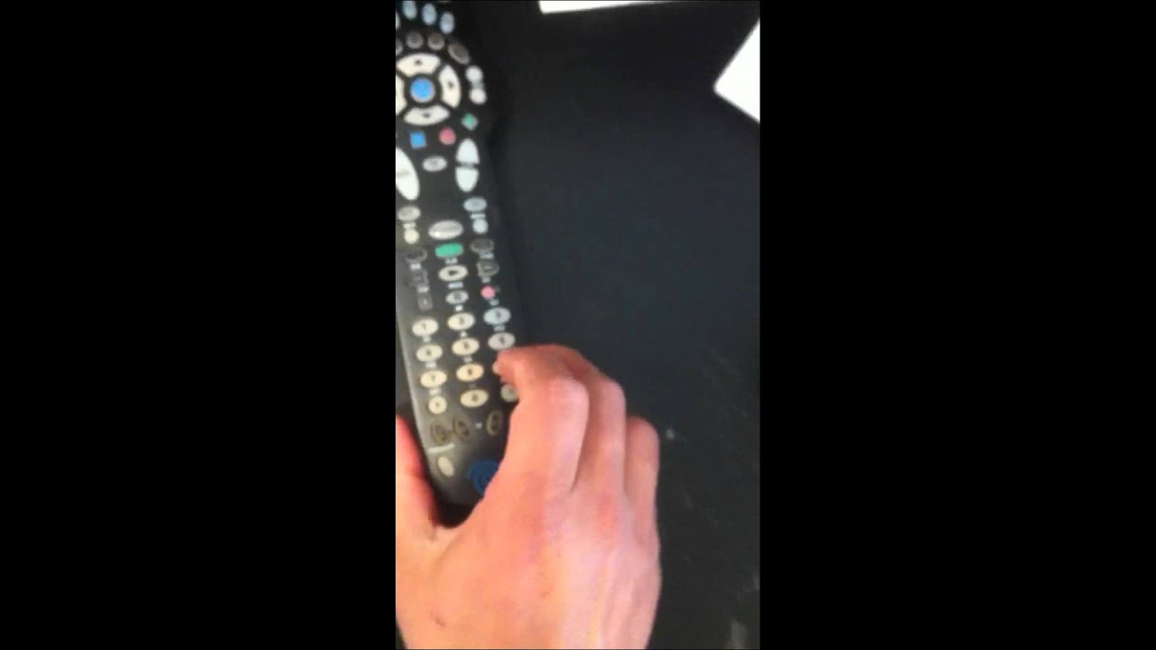 How To Reprogram Your Time Warner Cable Remote To Your Tv Youtube