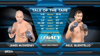 Fight of the Week: Paul Buentello's Legacy 22 Liver Shot