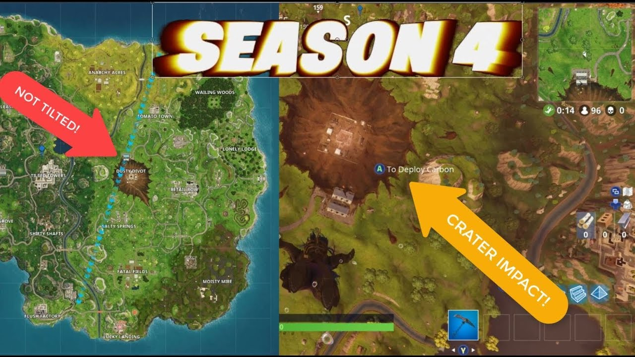 Everything New With Fortnite Season 4 New Map Gameplay Dusty