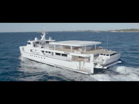 Echo Yacht's 46m support vessel Charley