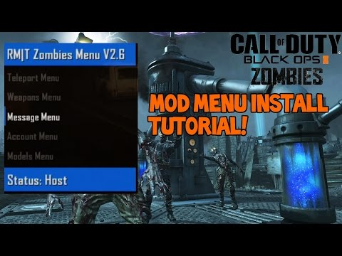 How to Install RM|T Zombies Menu 2 6 - How to Install a BO2 Zombies