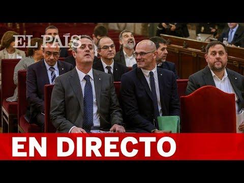 DIRECTO | JUICIO al 'PROCÉS': turno de la FISCALÍA y VOX