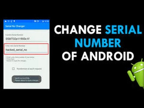 spy on android by it serial number