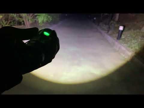 信捷【A88】XHP90 LED 強光手電筒 伸縮變焦調光 四核燈珠 無級調光 登山露營工作燈 超越T6 L2 P50