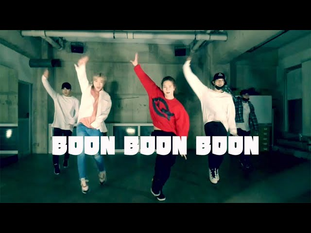 「BOON BOON BOON」 dance practice