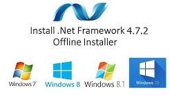 How to Download .Net Framework 4.7.2 Offline Installer Full Setup Free