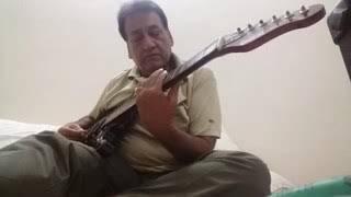 Aaj Se Pehale Aaj Se Jayda.... guitar lead dedicatd to guitarist.sri manjit Singh ji