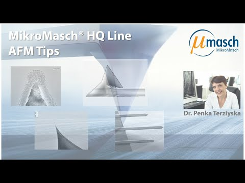 <h3>MikroMasch HQ Line Product Screencast on AFM Tips</h3> Presented by Dr. Penka Terziyska <br />Product Manager