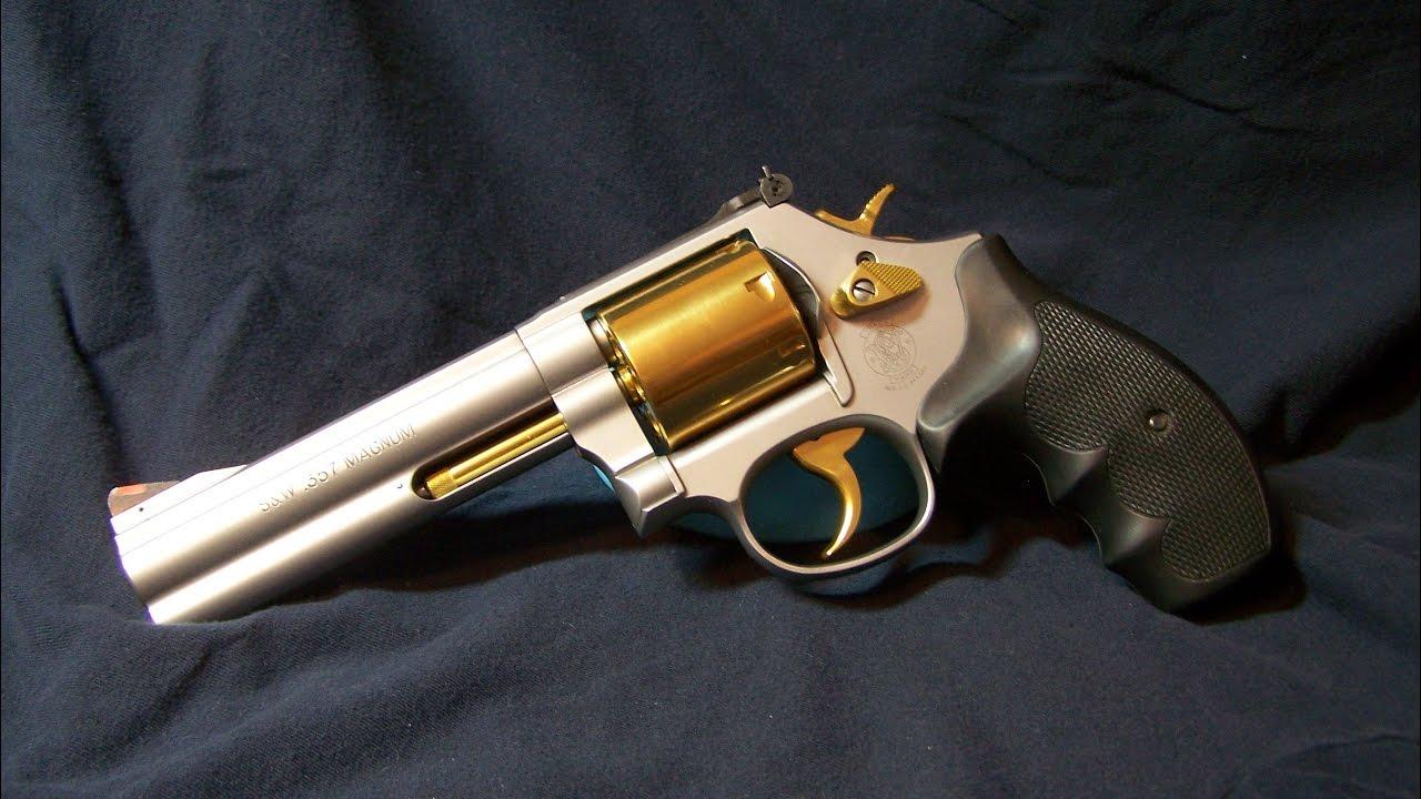 Smith Wesson 686 Level 2 Trigger Job Part 3 Polishing Stoning The