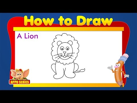 Learn to Draw Animals - Lion from YouTube · Duration:  2 minutes 15 seconds