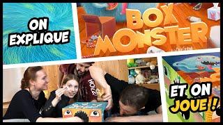 On explique et on joue à Box Monster (en avant-première)