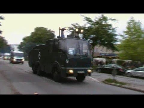[Krawalle nach Nordderby] Dauerstreß + Polizeigroßeinsatz im Rotlichtbezirk Hamburg