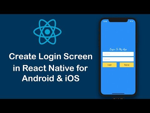 Create Login Screen