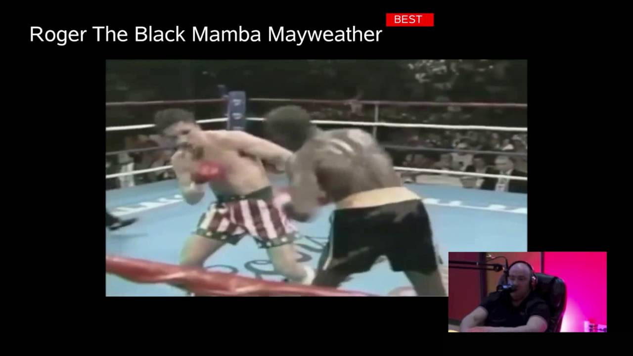 Roger Mayweather, former boxing champion and uncle to Floyd Jr ...