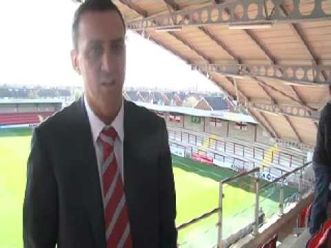 Fleetwood Town FC chairman Andy Pilley