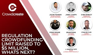 Regulation Crowdfunding Limit Raised to $5 Million & What's Next? | Crowdcreate Mastermind #21