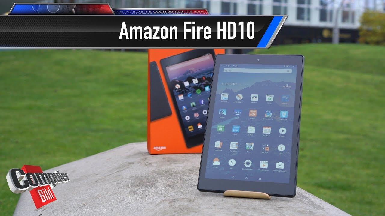 amazon fire hd 10 2017 das alexa tablet im test youtube. Black Bedroom Furniture Sets. Home Design Ideas