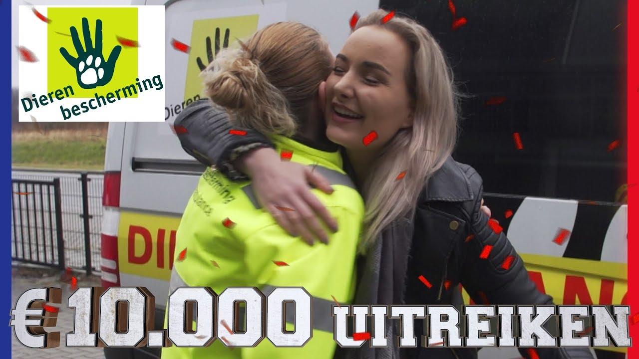 10.000 EURO UITREIKEN AAN DE DIERENBESCHERMING | Challenges Cup #67