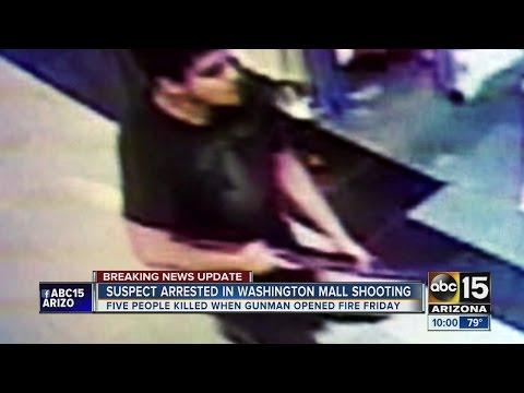 Police ID suspect in Washington mall shooting