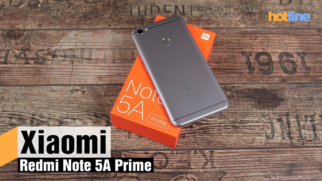 Xiaomi Redmi Note 5A Prime — обзор смартфона