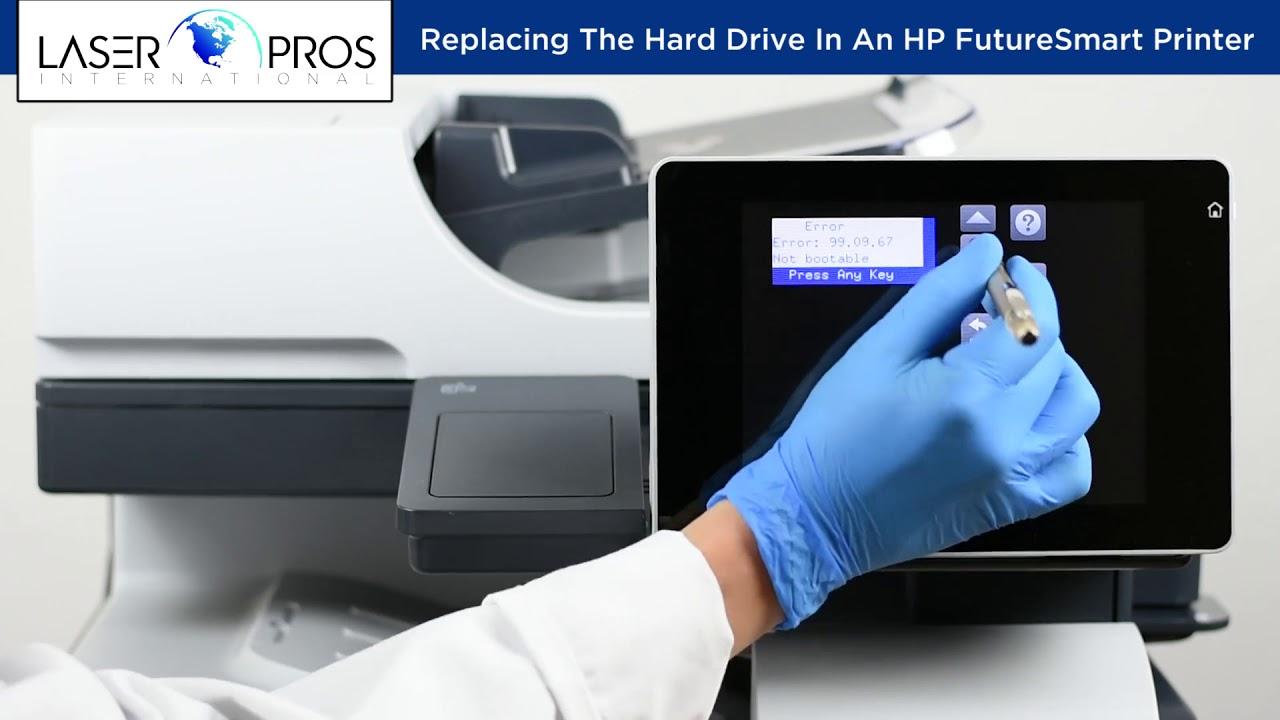 Replacing The Hard Drive In An Hp Futuresmart Printer