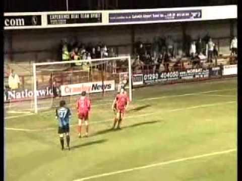 Season 04/05 Crawley Town FC vs Stevenage Borough FC