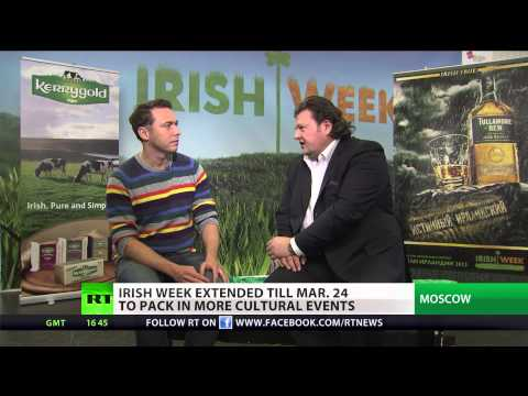 Irish Week in Moscow: 'Russians & Irish have much in common'