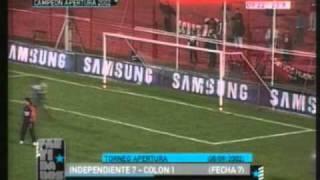 Independiente 7 Colon 1 Apertura 2002 (resumen Completo)