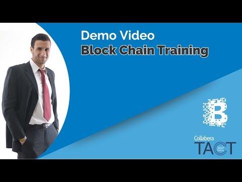 Block Chain Training - Demo Video