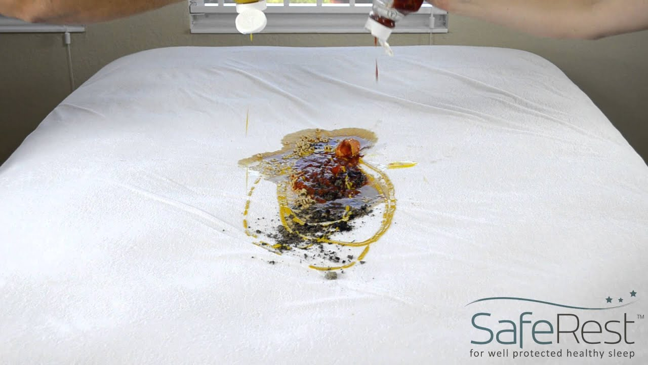 Saferest Waterproof Mattress Protector Recipe For Disaster Youtube