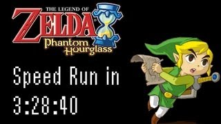 Zelda Phantom Hourglass Speed Run in 3:28:40 [Single Segment with Resets]
