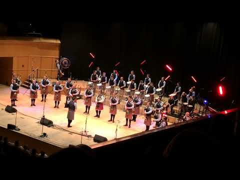 Shotts & Dykehead Caledonia Pipe Band Concert Encore - The Crooked Bridge - feat. Bill Livingstone