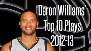 Deron Williams Top 10 Plays 2012-13