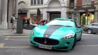 BRUTAL SOUNDS from LOUD Maserati's!!