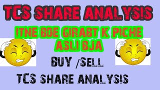 Tcs share news, tcs share analysis, why tcs share price is falling ? Is it good time to buy tcs