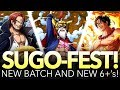 OFFICIAL ANNIVERSARY SUGO-FEST! GUARANTEED LAW! NEW 6+ UNITS! (One Piece Treasure Cruise - Global)