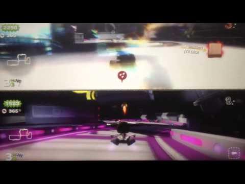 Little Big Planet Karting : Gameplay 13 PS3 - Al infinito y mas haya