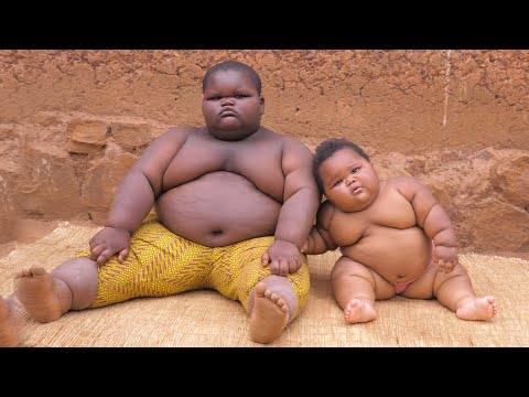 Giant 5-Year-Old Baby Weighs 220lbs Won't Stop Growing | World's Heaviest Kids