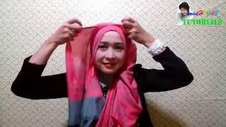 tutorial hijab KEREN 2017