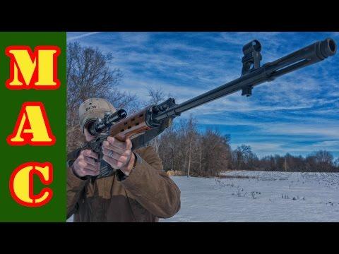 Shooting the NDM-86 SVD Dragunov
