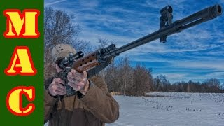 shooting the ndm 86 svd dragunov