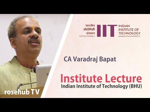 Understanding Budget | Union Budget 2018 | by CA Dr Varadraj Bapat | IIT (BHU)