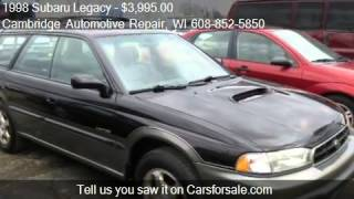 1998 Subaru Legacy Outback Limited AWD - for sale in Cambrid