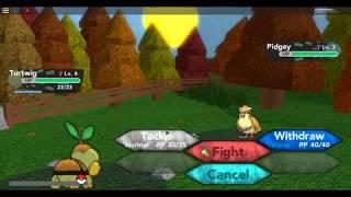 Roblox Ep 1:Pokemon Brick Bronze