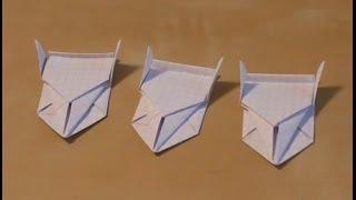 Как сделать машину из бумаги своими руками за 3 минуты! Видео!(Это видео научит вас как своими руками поэтапно собрать гоночную машинку. Схема сборки оригами машины очен..., 2014-01-02T10:49:38.000Z)