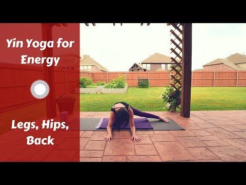 Yin Yoga for Energy | Kidney & Bladder Meridians {37 mins}