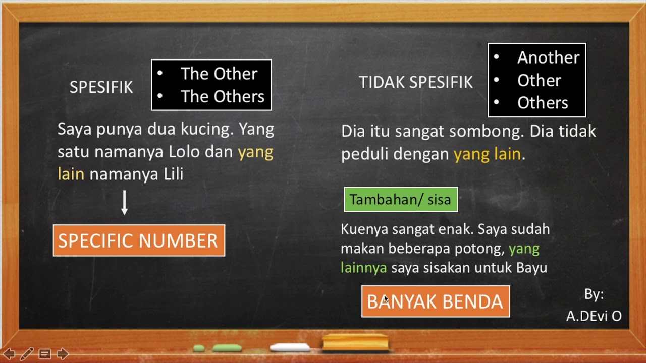 Perbedaan Another, Other, Others, The Other, dan The Others - Pembahasan Soal USM PKN STAN