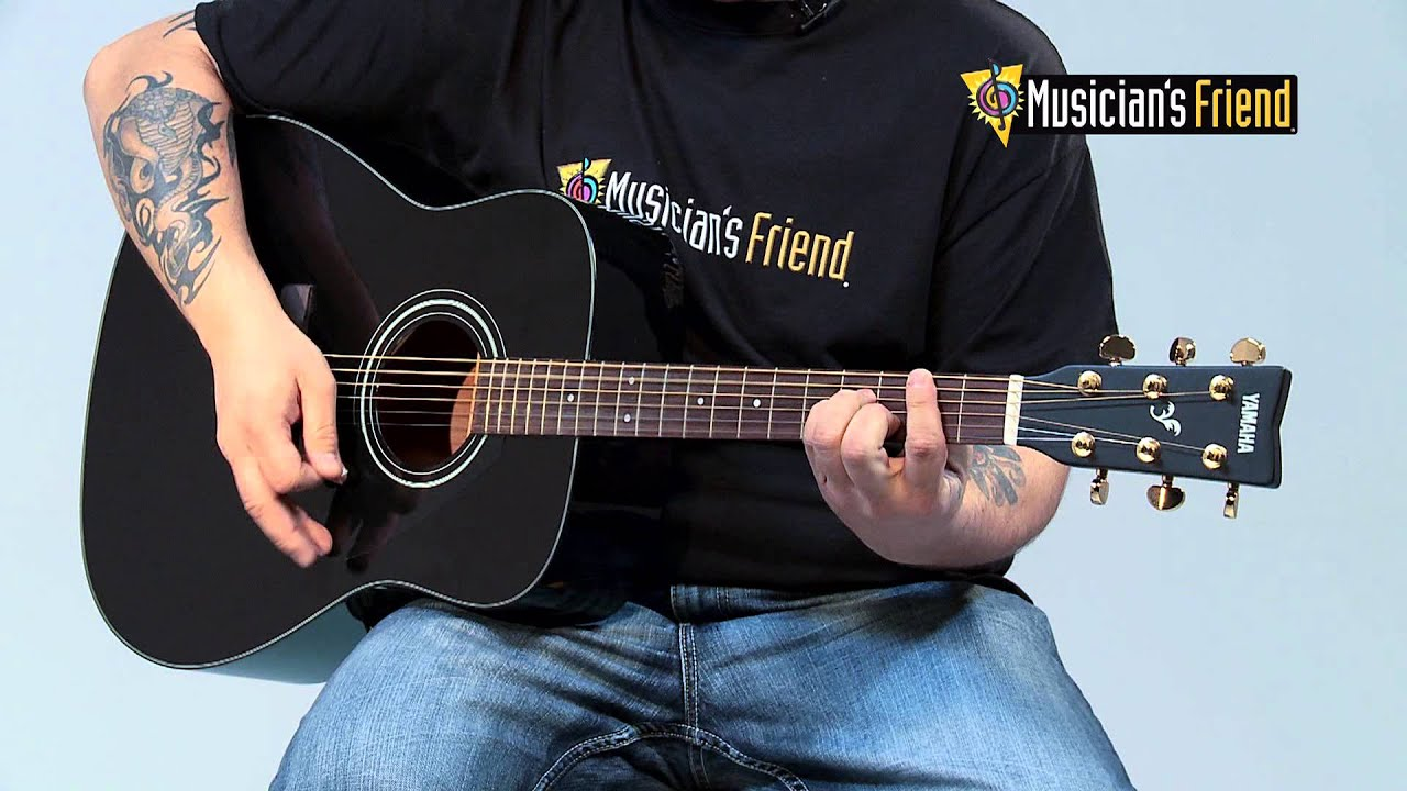 yamaha f335 acoustic guitar youtube. Black Bedroom Furniture Sets. Home Design Ideas