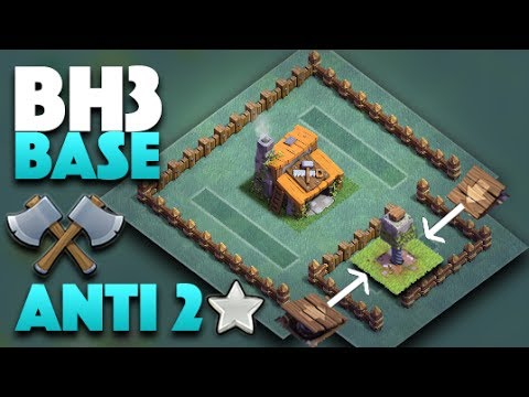 Builder Hall Level 3 (Best BH3 Base Pushing To 2k W/ Replays)  | Clash Of Clans Update